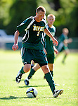 1 September 2009: Siena College Saints' backfielder Nick Viaggio, a Junior from Maspeth, NY, in action against the University of Vermont Catamounts at Centennial Field in Burlington, Vermont. The Saints edged out the Catamounts 1-0. Mandatory Photo Credit: Ed Wolfstein Photo