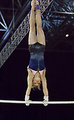 21st March 2018, Arena Birmingham, Birmingham, England; Gymnastics World Cup, day one, womens competition; Alice Kinsella (GBR) on the Uneven Bars during  Training