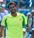Marin Cilic (CRO) defeated Andy Murray (GBR) 6-4, 7-5 in the final