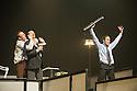London, UK. 23.10.2013. Kristjan Ingimarsson / Neander present BLAM! at the Peacock Theatre. Picture shows: Lars Gregersen, Janus Elsig and Kristjan Ingimarsson. Photograph © Jane Hobson.