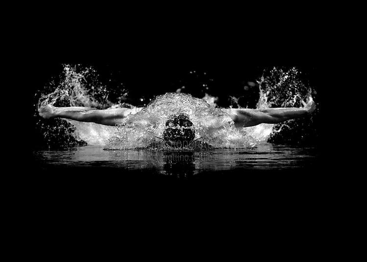 © Giorgio Perottino <br /> Manchester (GBR), 12-04-2008<br /> Sport, swimming<br /> World Swimming Championships 25mt  Manchester 2008