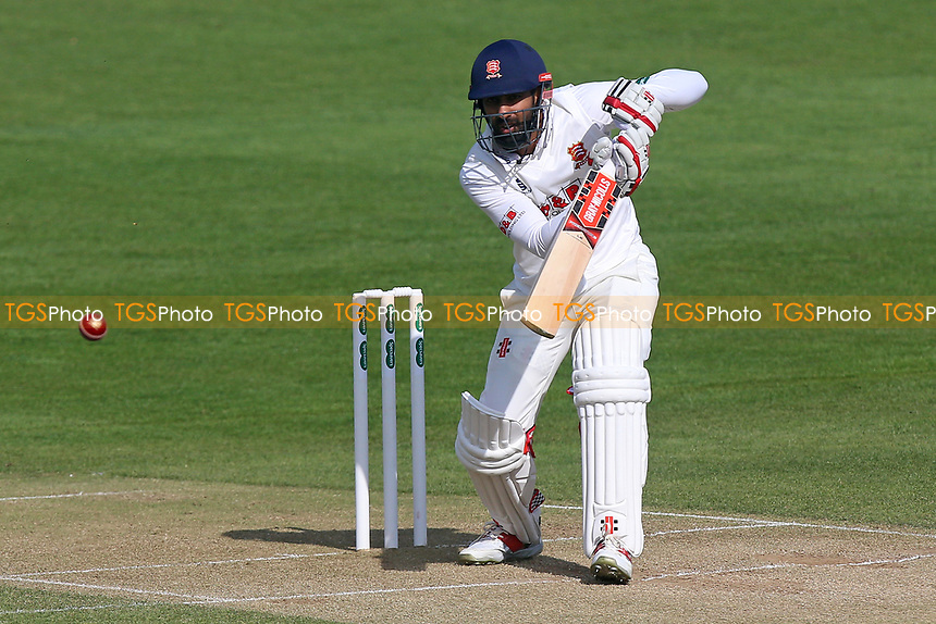 Varun Chopra in batting action for Essex during Essex CCC vs Durham MCCU, English MCC University Match Cricket at The Cloudfm County Ground on 3rd April 2017