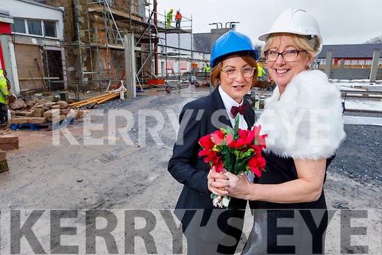 Scoil Eoin Tralee NS teachers Sinead Curtin and Aine Baker launching their Valentine's Ball on Tuesday.