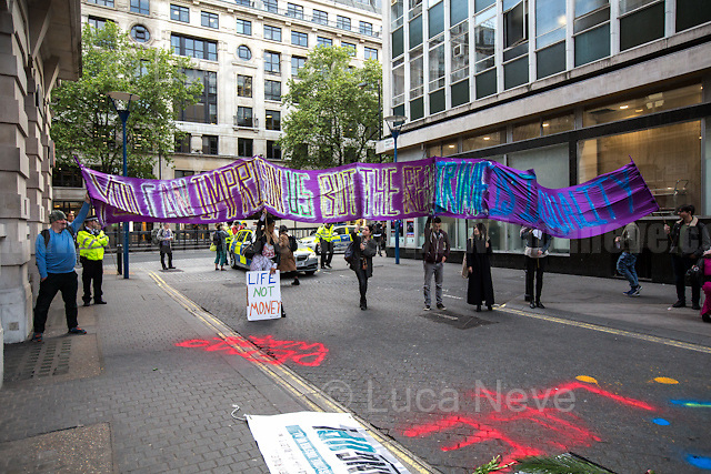 &quot;You can imprison us but the real crime is inequality&quot;.<br />