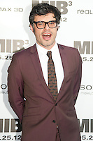 Jemaine Clement at the Men In Black 3 premiere at The Ziegfeld Theater in New York City. May 23, 2012. © Kristin Driscoll/MediaPunch Inc.