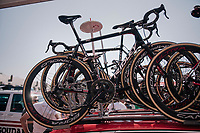Team Lotto-Soudal spare bikes<br /> <br /> Stage 9: Arras Citadelle > Roubaix (154km)<br /> <br /> 105th Tour de France 2018<br /> ©kramon