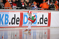 SCHAATSEN: BOEDAPEST: Essent ISU European Championships, 06-01-2012, 3000m Ladies, Ágota Tóth HUN, ©foto Martin de Jong