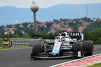 17th July 2020, Hungaroring, Budapest, Hungary; F1 Grand Prix of Hungary,  free practise sessions;  63 George Russell GBR, Williams Racing