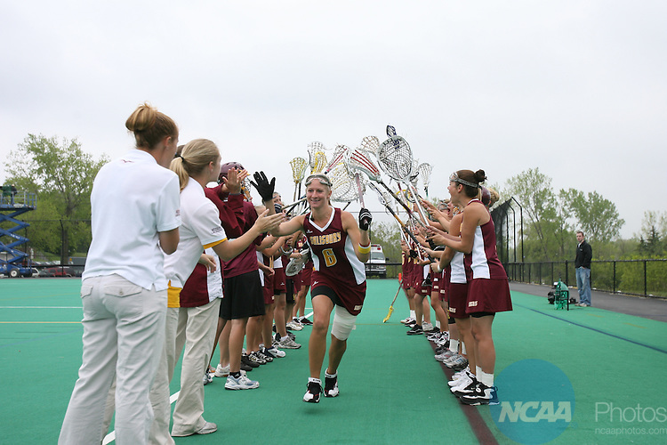 20 MAY 2007: Salisbury takes on Franklin & Marshall during the Division III Women's Lacrosse Championship held at McCooey Field on the William Smith College campus in Geneva, N.Y. Franklin & Marshall defeated Salisbury 11-8 for the national title. Kevin Colton/NCAA Photos