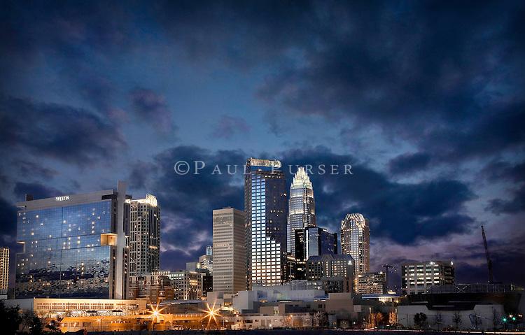 Charlotte NC - Charlotte City  Skyline photo