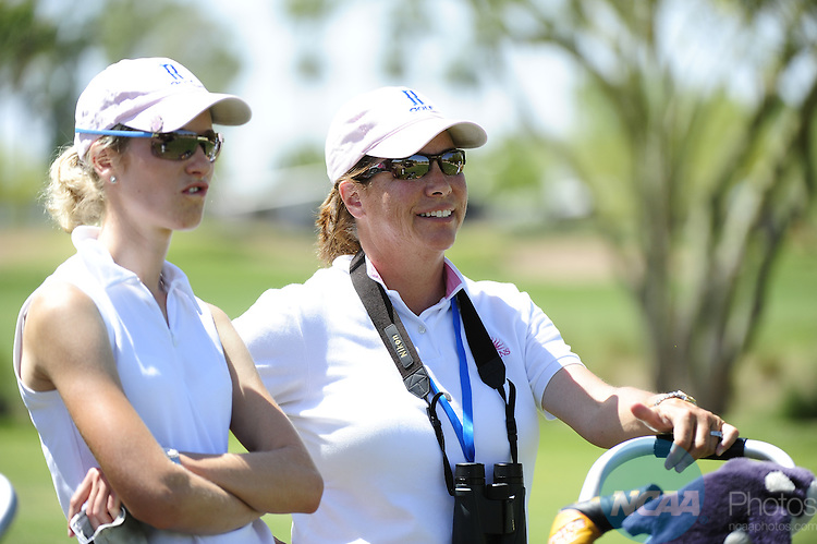 15 MAY 2010:  The Division II Women's Golf Championship is held at the Longbow Golf Club in Mesa, AZ.  Nick Doan/ NCAA Photos