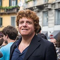Il Primo giorno della settimana della moda a Milano: Alessandro Sortino alla sfilata di Gucci<br /> <br /> The open day of the Milan fashion week 2012 edition