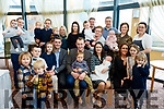 Parents Berth&Rosemarie Sheehy from Ballyduff, Christened Baby Sam in the village church last Saturday afternoon by Fr Brendan Walsh and celebrated after with family in Ballyroe Heights hotel, Tralee.