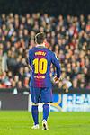 Lionel Andres Messi of FC Barcelona is seen during the La Liga 2017-18 match between Valencia CF and FC Barcelona at Estadio de Mestalla on November 26 2017 in Valencia, Spain. Photo by Maria Jose Segovia Carmona / Power Sport Images