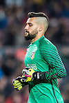Goalkeeper Miguel Angel Moya Rumbo of Atletico de Madrid looks on during their Copa del Rey 2016-17 Semi-final match between FC Barcelona and Atletico de Madrid at the Camp Nou on 07 February 2017 in Barcelona, Spain. Photo by Diego Gonzalez Souto / Power Sport Images