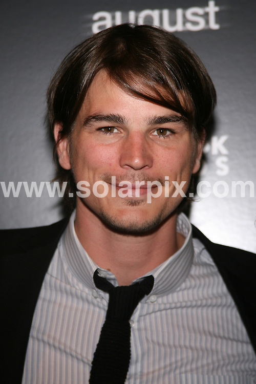 "**ALL ROUND PICTURES FROM SOLARPIX.COM**.**SYNDICATION RIGHTS FOR UK, SPAIN, PORTUGAL, AUSTRALIA, S.AFRICA & DUBAI (U.A.E) ONLY**.Josh Hartnett arrives at the The Cinema Society Hosted Special Screening of ""August"". Held at the Tribeca Grand Screening Room, 2 Avenue of The Americas - New York City, NY, USA. 9th July 2008..JOB REF: 6798 PHZ/ Sylvain Gaboury   .DATE: 09_07_2008.**MUST CREDIT SOLARPIX.COM OR DOUBLE FEE WILL BE CHARGED* *UNDER NO CIRCUMSTANCES IS THIS IMAGE TO BE REPRODUCED FOR ANY ONLINE EDITION WITHOUT PRIOR PERMISSION*"