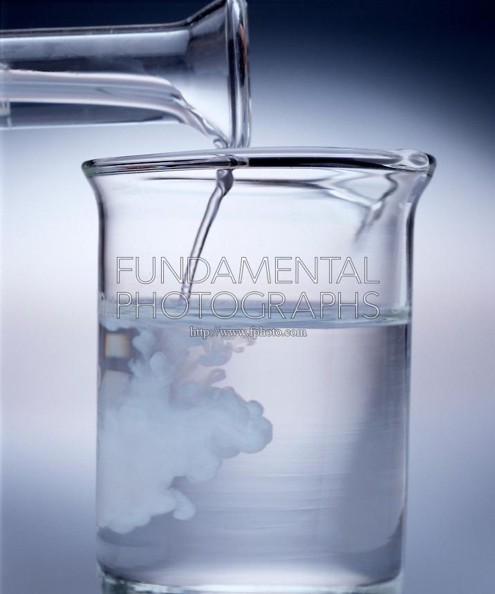 Science Chemistry Precipitation Reaction Barium Sulfate