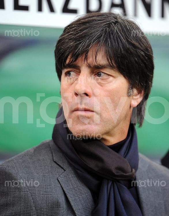 FUSSBALL   INTERNATIONAL   WM QUALIFIKATION  2010 Deutschland - Finnland           14.10.2010 Trainer Joachim LOEW (Deutschland)