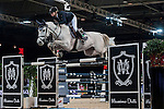 Anne-Sophie Godart of France riding Vidretta m de Bellignies in action at the Gucci Gold Cup during the Longines Hong Kong Masters 2015 at the AsiaWorld Expo on 14 February 2015 in Hong Kong, China. Photo by Xaume Olleros / Power Sport Images