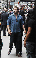 NEW YORK, NY-August 01`: Jai Courtney at Good Morning America  to talk about new movie Warner Bros. & DC  Suicide Squad in New York. NY August 01, 2016. Credit:RW/MediaPunch