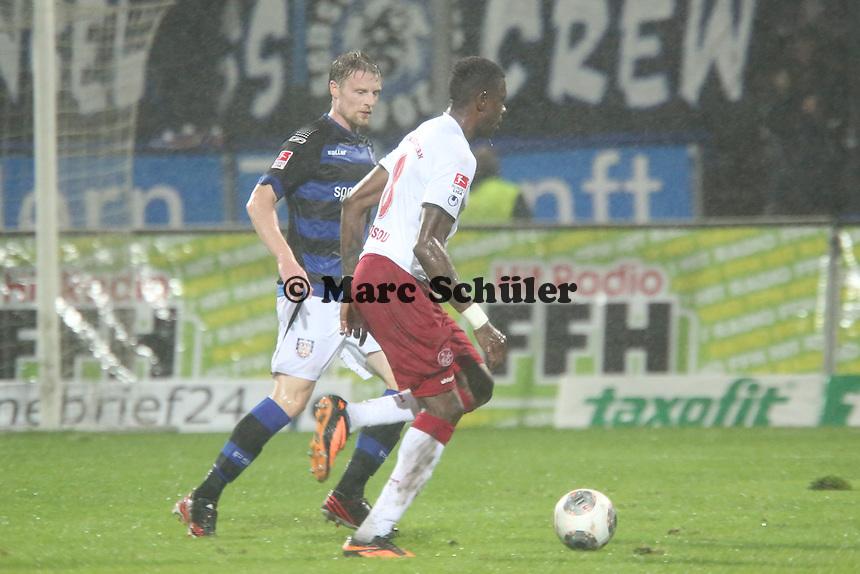 Mo Idrissou (FCK) - FSV Frankfurt vs. 1. FC Kaiserslautern, Frankfurter Volksbank Stadion
