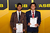 Boys Hockey finalists Jared Panchia and George Muir. ASB College Sport Young Sportsperson of the Year Awards held at Eden Park, Auckland, on November 24th 2011.