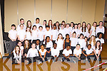Moyderwell NS Choir who participated at the 2014 Peace Proms in the INEC on Sunday