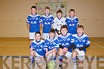 Annascaul Team who won Bronze at the under 13 indoor soccer Community Games in Annascaul indoor hall on Friday last were pictured l-r: Diarmuid O Hara, Sean Kennedy, Killian Falvey Jack Farrell Dáire Kennelly, James Ashe and Conor O'Brien..