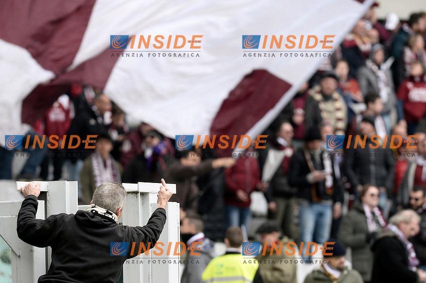 Tifosi Torino Supporters <br /> Torino 11-12-2016 Stadio Olimpico Grande Torino <br /> Fotball Calcio Serie A 2016/2017 Torino - Juventus  <br /> Foto Massimo Pinca Insidefoto
