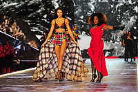 NEW YORK, NY - NOVEMBER 08: Kendall Jenner and Lauryn Hill at the 2018 Victoria's Secret Fashion Show at Pier 94 on November 8, 2018 in New York City. Credit: John Palmer/MediaPunch