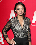 Aimee Carrero attending the Opening Night After Party for the Atlantic Theater Company's 'What Rhymes with America' at Moran's in New York on December 12, 2012