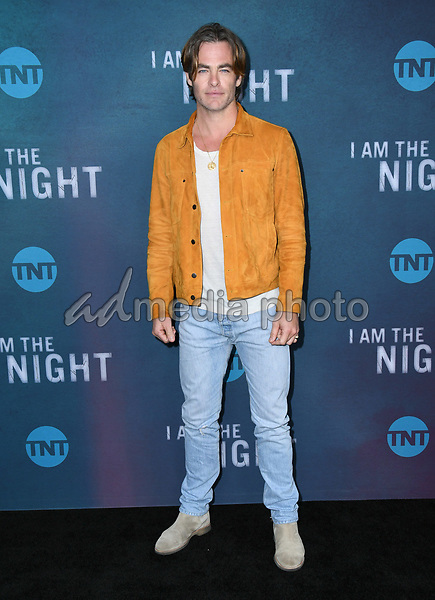 """09 May 2019 - North Hollywood, California - Chris Pine. Emmy FYC for TNT'S """"I Am the Night"""" held at the Saban Media Center at the Television Academy. Photo Credit: Birdie Thompson/AdMedia"""