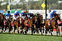 Melbourne Cup / race action<br />