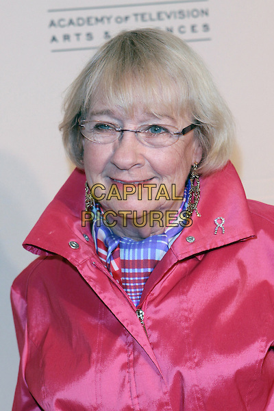 KATHRYN JOOSTEN.Academy Of Television  Arts & Sciences 19th Annual Hall Fame Gala  held at The Guys & Dolls Lounge, West Hollywood, CA, USA..January 20th, 2010.headshot portrait pink glasses .CAP/ADM/TC.©T. Conrad/AdMedia/Capital Pictures.