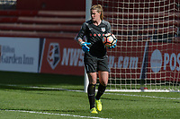 Bridgeview, IL - Saturday April 22, 2017: Alyssa Naeher during a regular season National Women's Soccer League (NWSL) match between the Chicago Red Stars and FC Kansas City at Toyota Park.