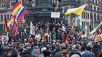 2015/01/25 Dresden | Pegida und NoPegida-Proteste