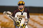 Palos Verdes, CA 03/30/10 - Brandon Panfil (Peninsula #9) in action during the Palos Verdes-Peninsula JV Boys Lacrosse game.