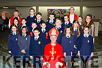 Miss Aoife O'Carroll class from St Olivers NS with Bishop Ray Browne and at their Confirmation in the Church of the Ressurection on Friday