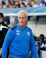 Ipswich Town manager, Mick McCarthy seen during the Sky Bet Championship match between Millwall and Ipswich Town at The Den, London, England on 15 August 2017. Photo by Carlton Myrie.