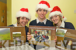 Rathmore Social Action group members Siobhan Ardener, Jamie Buckley and Julia McCarthy at the launch of their calanders which will be used to raise money for sheltered housing for the elderly and also for the third world...   Copyright Kerry's Eye 2008