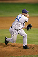 Rhett Ballard of the Tri-City Dust Devils in the Northwest League championship game against the Salem-Keizer Volcanoes at Volcanoes Stadium - 9/10/2009..Photo by:  Bill Mitchell/Four Seam Images..