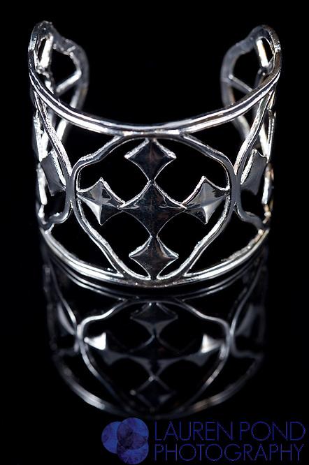 Gracewear bracelet sterling silver shielf cuff