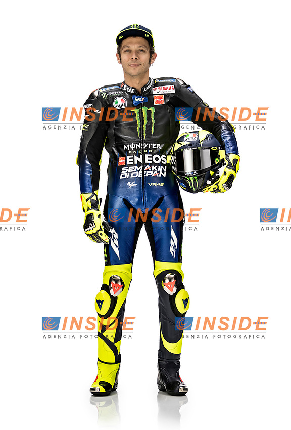 Valentino Rossi <br /> 2019 MONSTER ENERGY YAMAHA MOTOGP TEAM PRESENTATION <br /> 14/01/2019<br /> Foto Yamaha Press Office / Insidefoto <br /> Editorial Use Only