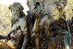 Fountain in Lisbon, Portugal.