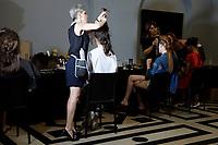 Adeline Ziliox<br /> Paris Fashion week Haute Couture 2019<br /> Paris, France on June 30, 2019.<br /> CAP/GOL<br /> ©GOL/Capital Pictures