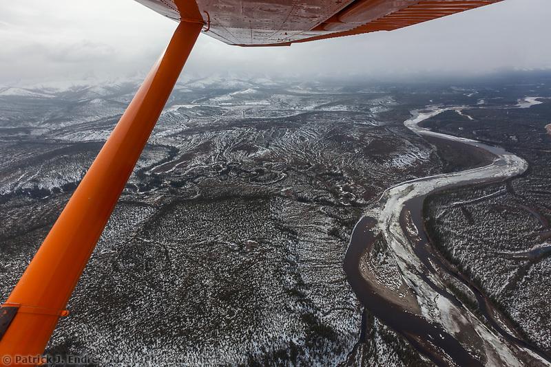 Breakup along the Kobuk River in Alaska's Arctic.
