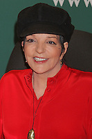"""Liza Minnelli signing her CD, """"Liza Minnelli: Live at the Winter Garden"""" at Barnes & Noble Fifth Avenue in New York, 09.05.2012...Credit: Rolf Mueller/face to face /MediaPunch Inc. ***FOR USA ONLY***"""