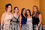 Glamour: Looking glamourous at Listowel Rugby Clubs Social in The Listowel Arms Hotel on Saturday night are: l-r: Catherine Keane, Marina Smith, Jenny Ahern, Michelle Ahern, Listowel, & Helain Looney, Mallow