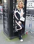 Tallia Storm wearing Boo Hoo at London Fashion Week