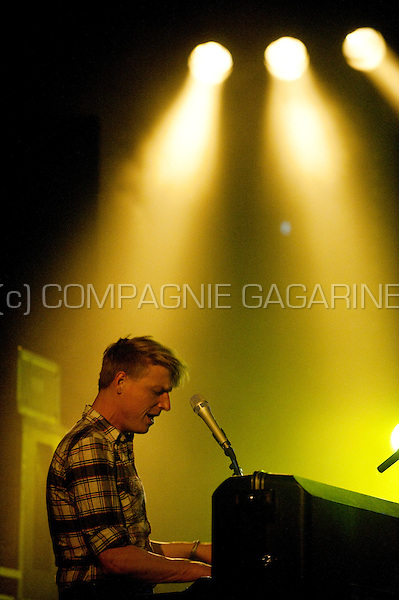 Belgian indie-pop group Das Pop performing at the Nuits du Botanique festival in Brussels (Belgium, 08/05/2009)